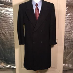 Pierre Cardin Double-breasted Overcoat